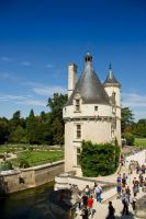 The Marques tower - Chenonceau by GrungeTV