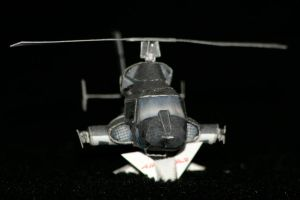 Mini Airwolf paper model 3 by ThunderChildFTC