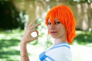 Orange Nami ~ One Piece 3 by SinnocentCosplay
