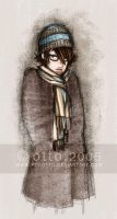 chara design . boy with scarf by porotto