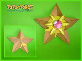 Staryu Papercrafts by Skele-kitty