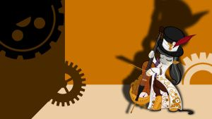 Steampunk Octavia Wallpaper by thaBIGDADDY5