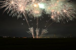 Fireworks in Fussa by UltraSonicUSA
