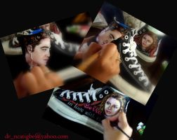 Edward and Bella on Converse by alcat2021