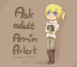 Ask Armin Arlert - Tumblr ask by PikaIsCool