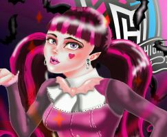Monster High Drculaura  by IndyMBras