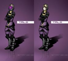 Tali face by StanEKB