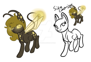 (CLOSED) Firelight Pony Adopt by Amiookamiwolf