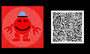 Freakyforms: Mr. Small QR Code by nintendolover2010