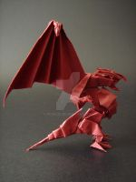 Dragon - Origami by RyuuCid