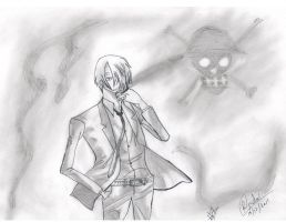Sanji by DemonEyesRohan