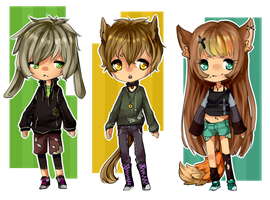 [OFFER] CLOSED ADOPTABLES by MaeNemesis