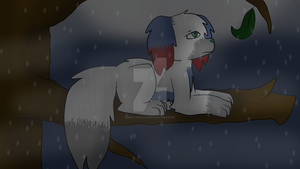 Rainy day by Mollycollie