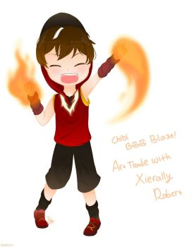 Boboiboy : [AT] Chibi Boboiboy Blaze! by ratubilqish