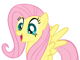 Excited Fluttershy by alex1is2bored3