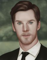 Cumberbatch by LadaSeredina