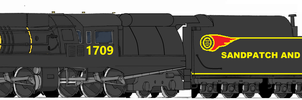 Sandpatch and Southern 2-6-6-4 Borden Class by Engine97