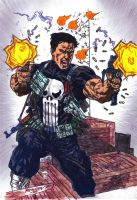 The Punisher  colab by CDL113