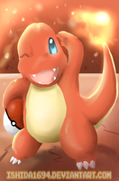 HAPPY B-DAY NEKO! CHARMANDER by Ishida1694