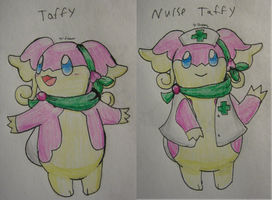 Taffy the Tabunne by Nijihamu-can