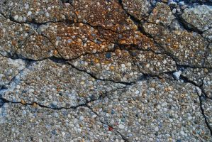 Cracked Concrete by LogicalXStock
