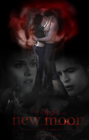 New Moon Poster 9 by twilightaholic94