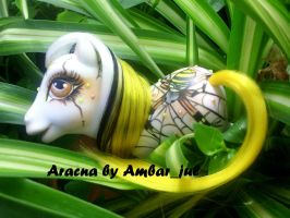pony custom Spider Aracna by AmbarJulieta