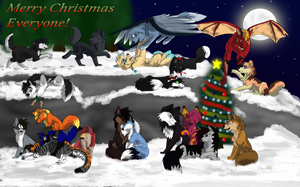 Merry Christmas, Everyone!!! by BlueSkyWolf