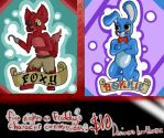 Five Nights at Freddy's commissions by luv4horsez