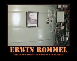 Erwin Rommel Demotivational by Onikage108