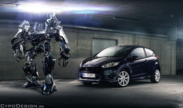 Transformer baby by CypoDesign