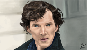 Sherlock - Photo Study (Full View) by JustinTheEnd