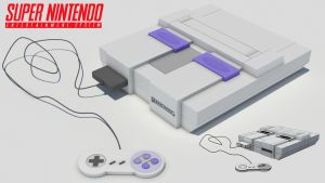 Super Nintendo by Mo3D