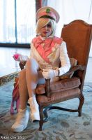 Militarystuck Roxy Lalonde Cosplay: The Queen by Khainsaw