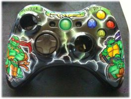 ninja turtles controller by chrisfurguson