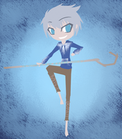 Jack Frost -Lineless- by Raixal