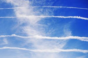 lines in the sky by almaclone