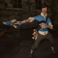 [SFM] Parkour scout by JohnJohnny16
