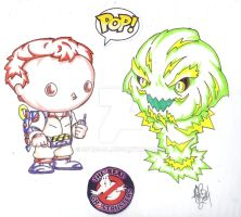 FUNKO POP REAL GHOSTBUSTERS #4 by Optic-AL