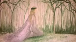 Queen of forests by Drawlady