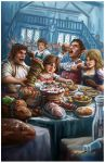 The Merry Halflings by SHAWCJ