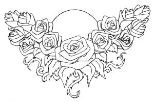 Flower Lower Back Rose Tattoo Designs Picture 4