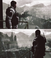 Chris Redfield.  My whole life... by AliceCroft