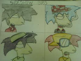 Sideshow Bobs- Demon Days by bortmania