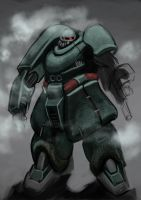King Zaku by Greenstuff-Alex
