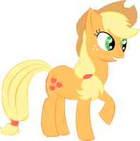 AppleJack Official Look by Mephilez