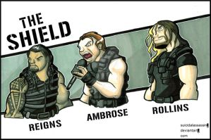 THE SHIELD by suicidalassassin