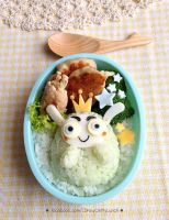 King Cabbage Lunch box by loveewa