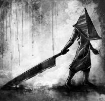 Red Pyramid by theLastSamu