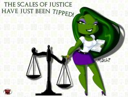 MASHI's SCALES of JUSTICE by DeadDog2007